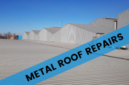 MetMetal Roof Repairs To Warehouse