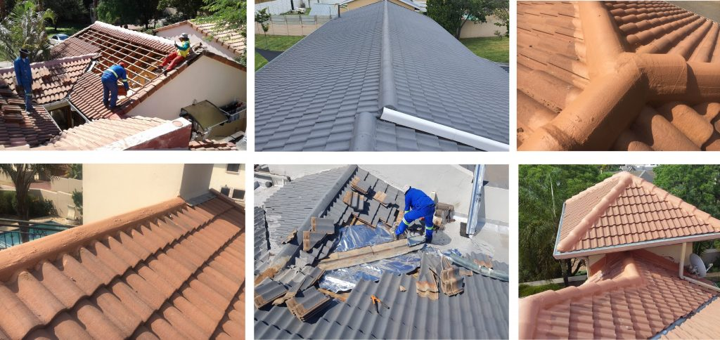 Tiled Roof Repair Projects