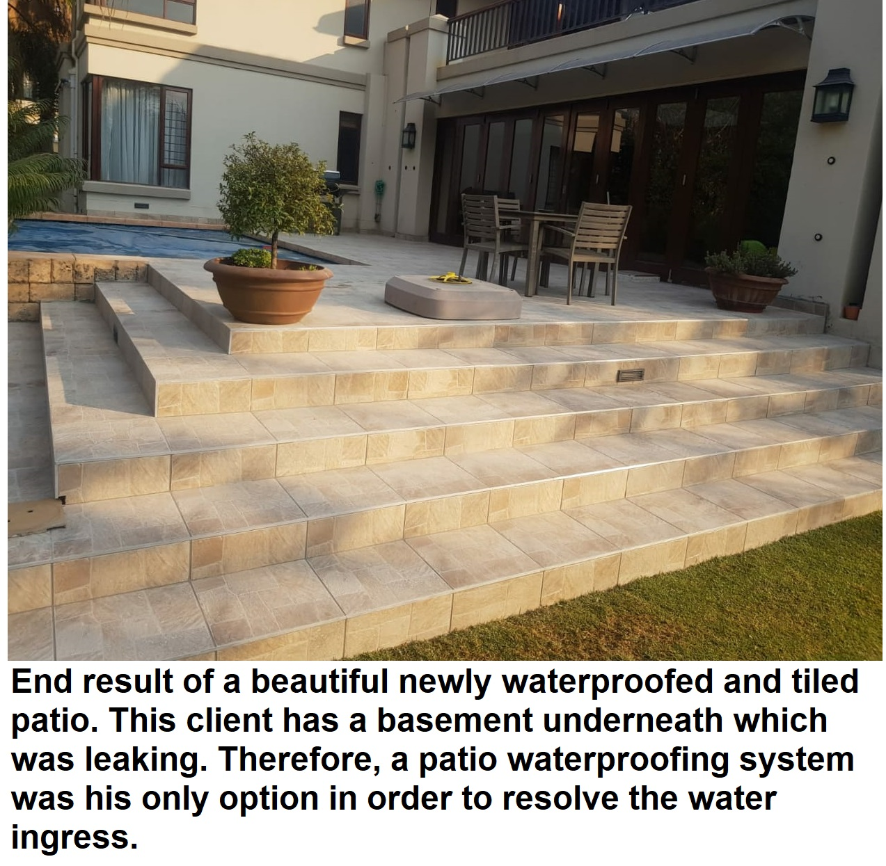 Patio Waterproofing